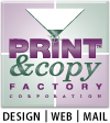 Print and Copy Factory in Bellingham, WA Logo