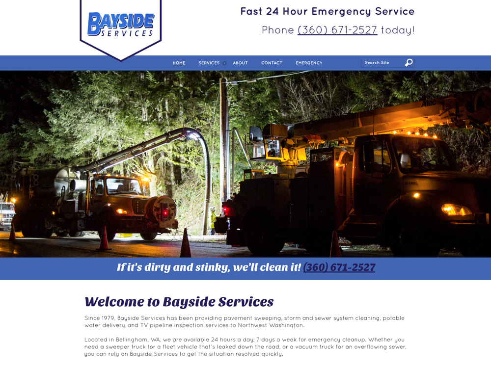 Bayside Services Web Development
